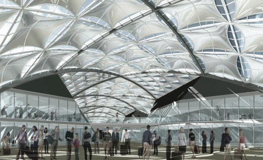 High-speed train station – Florence Belfiore